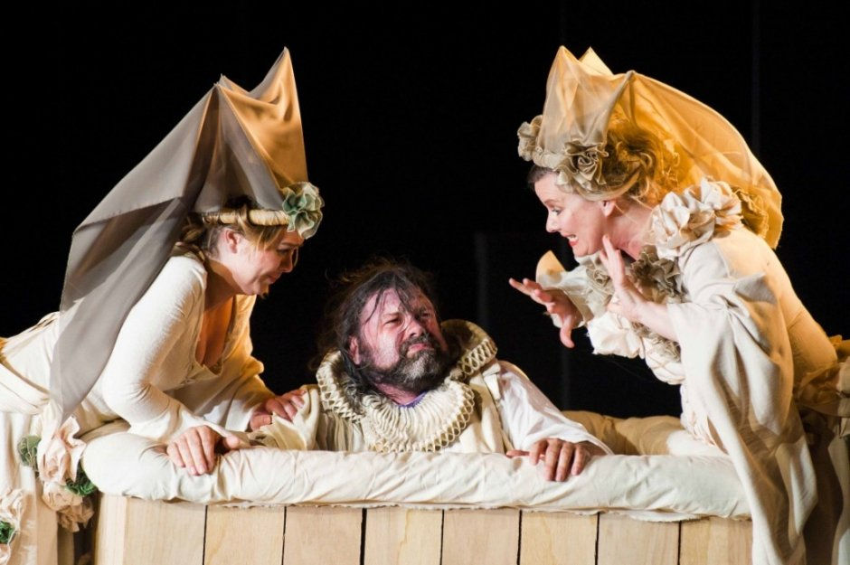 From previous Opera Project production of Falstaff. Photo by Matthew Williams-Elis