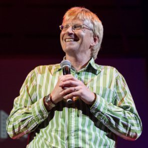 Dr Phil Hammond performs at Stand Up for Slapstick 2015