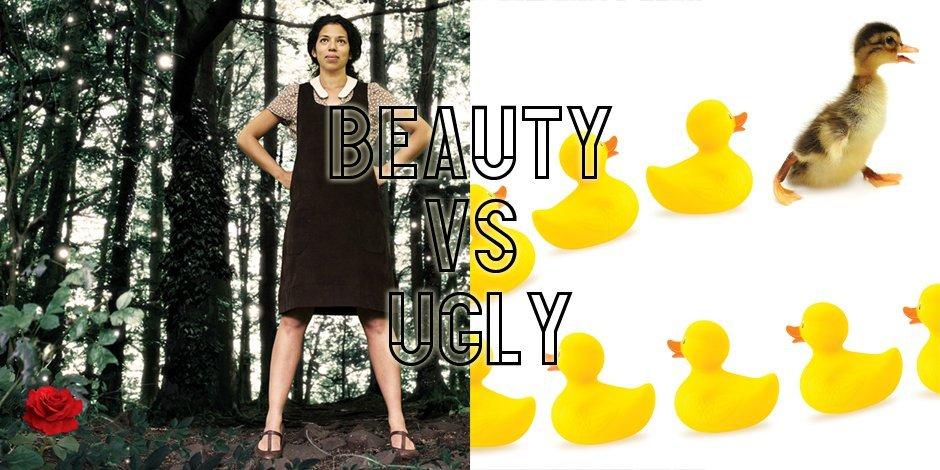 Beauty vs Ugly artwork